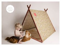 such great heights- super cute tents for little ones