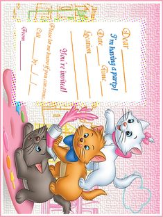 aristocats | marie+aristocats+printable+party+invitation+free MARIE ARISTOCATS ...