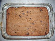 Paleo Blondies Made with coconut cream, some coconut flour, chocolate chips - looks fabulous. Must make.