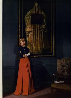 Harper's Bazaar Editorial New Nights, November 1945