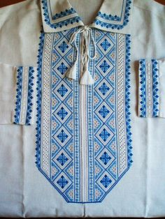 Embroidered shirt for a man, Ivano-Frankivshchyna, Ukraine, from Iryna with love