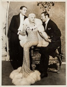 """Eugene Robert Richee, Mae West in """"Goin' to Town"""" directed by Alexander Hall, 1935"""