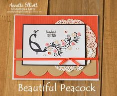 Stampin' Up! Sale-a-Bration Beautiful Peacock