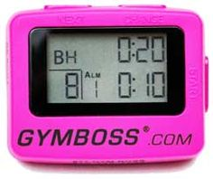 There's still time for the Gymboss Giveaway! An #interval timer great for your exercise programs