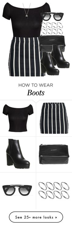 """""""Style #10586"""" by vany-alvarado on Polyvore featuring H&M, Givenchy, Office, Prada, MTWTFSS Weekday and ASOS"""
