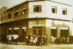 Mercado de la carne. Urbanización  El Conde, Caracas año 1937 Imagen Luis Felipe Toro Torito.