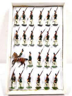 Georg Heyde Zinnfiguren Jäger Bataillon In Marsch OVP Höhe ca. 5,5 cm /533 | eBay