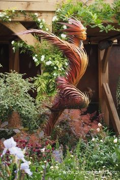 Heralded as the world's most prestigious horticultural event, the Royal Horticultural Society's Chelsea Flower Show opens to the public from Tuesday May 2017 until Saturday May Visitors will be treated to exhibits showcasing the lates River Rock Landscaping, Landscaping With Rocks, Chelsea Flower Show, Beautiful Gardens, Beautiful Flowers, Landscape Design Plans, Landscape Architecture, Outdoor Sculpture, Garden Sculptures