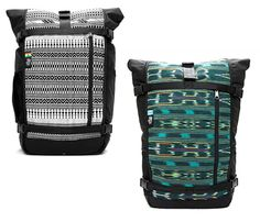 Ethnotek Backpacks l This rugged laptop compatible backpack is made from 840-denier water resistant ballistic nylon