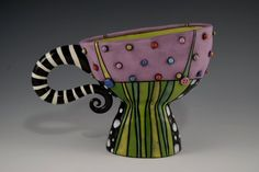 Artist-- Natalya Sots find her on ETSY...just bought one of these amazing mugs LOVE her stuff!