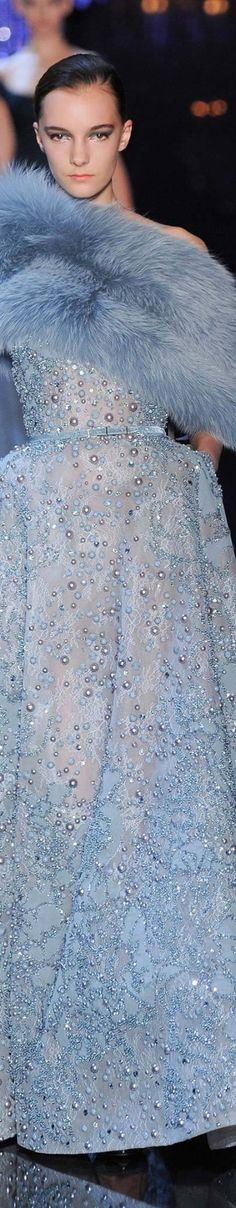 Elie Saab - Fall 2014 Ready-to- Wear {Pin via James Mitchell, Repin by Marguerite Burrill}