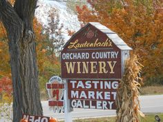 Lautenbach's Orchard Country Winery-Door County in Fall