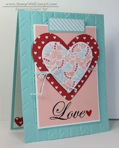 Flowerfull Heart Love Valentine - Stampin' Up!
