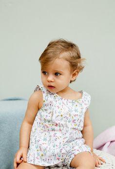 Olivier Baby & Kids - Liberty Theo Peach Vest - BubbleChops - 1
