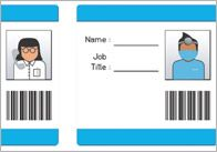 Hospital ID badges, signs and other printables. Wouldn't it be cute if big brother/sister wore an ID badge to the little one's arrival?