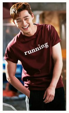 """Park Seo Joon (and his killer smile) as Go Dong Man in """"Fight for my Way"""" Asian Boys, Asian Men, Asian Actors, Korean Actors, Sung Joon, Park Seo Joon, Kdrama Actors, Jiyong, Junior"""