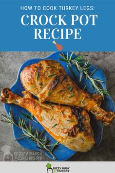 How to cook turkey legs in the crock pot with just a few ingredients Best Slow Cooker, Slow Cooker Recipes, Crockpot Recipes, Cooking Recipes, Vegetable Recipes For Kids, Roasted Vegetable Recipes, Quick Crockpot Meals, Easy Family Meals, Turkey Recipes