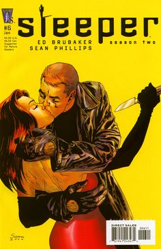 Sleeper by Ed Brubaker. Cloak and dagger and espionage - based on the wrong side of the law.
