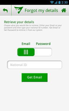 Mobile App: Saad Specialist Hospital on Behance Get Email, Mobile App Design, Mobile Application, Behance