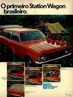 Opala caravan GM #Brasil #anos70 #retro #anunciosAntigos #vintageAds