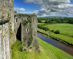 view from Kidwelly Castle, Wales, UK | Flickr - Photo Sharing!