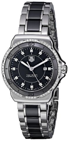 TAG Heuer Women's WAH1312.BA0867 Formula 1 Stainless Steel Two-Tone Watch with Diamonds
