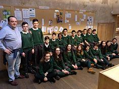 19 de enero de 2018. Visita y Formación con alumnos del colegio de las Jesutinas de Salamanca, curso 3ºA.