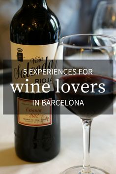 Can't get enough vino? These 5 experiences for wine lovers in Barcelona should earn a place on your itinerary! Spanish Wine, Spanish Food, Rioja Spain, Rioja Wine, Organic Wine, Restaurant Guide, Barcelona Travel, Spain Travel, Wine Drinks