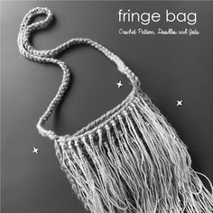 Easy Fringe Bag Free