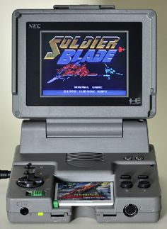 PC-Engine plus portable = AWESOME.