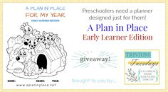 Plan in Place Giveaway w/ Trivium Tuesdays link-up