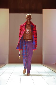 Kiko Romeo @afwny 2011 #fashion #africanfashion #pr #luxury #africafashionweek #newyork #ny in #ny #kenya
