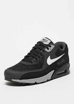 newest ec30a e5988 NIKE Schuh Air Max 90 Essential black white anthracite