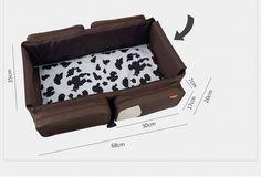 Новое поступление 2 в 1 многофункциональный путешествия пеленки младенца раза детская кровать изменение мама сумка портативный детская кроватка купить на AliExpress