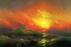 Ivan Konstantinovič Ajvazovskij - The Ninth Wave