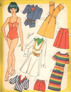 Mujeres - Soboleva Irina - Picasa Web Albums* Arielle Gabriel's 1500 free paper dolls The International Paper Doll Society