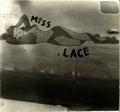 """B-24, """"Miss Lace"""""""
