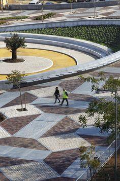 Sevilla, Spain Parque de la Musica, Costa Fierros arquitectos.