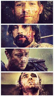 Spartacus...Crixus....Agron...Gannicus
