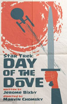 'Star Trek' retro poster campaign tackles classic episodes 'Amok Time' and 'Day of the Dove' -- FIRST LOOK