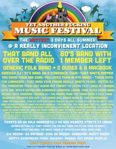 Yep another fucking music festival on http://www.drlima.net