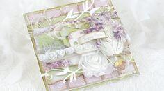 Card Series 109 - Violet Easter Greetings