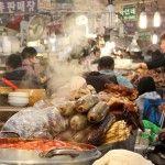Gwangjang Market – An Overwhelming Bounty of Ambrosial Korean Food!