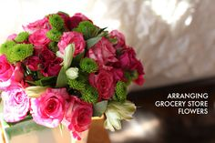 10 tips for making grocery store flowers look like they came from a florist. | Mighty Girl