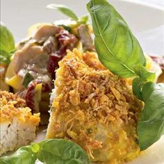 Maissibroileri - Reseptit – Kotiliesi, lisäksi currya ja aurajuuston tilalle voi laittaa emmental-mozzarella juustoraastetta