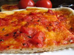 my mother's favorite pizza no knead dough authentic italian recipe diy easy