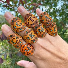 Leather Ring, Leather Tooling, Leather Jewelry, Leather Craft, Tooled Leather, Leather Bracelets, Leather Wallet, Branding Iron, Ring Crafts