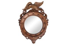 Regency Eagle Convex Mirror $185 on OKL