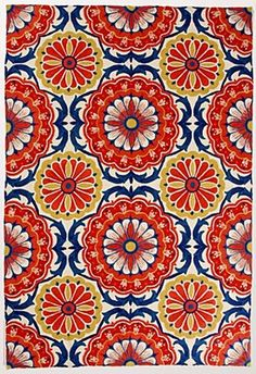 Flowery pattern this time