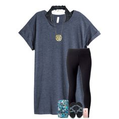 A fashion look from July 2016 featuring H&M t-shirts, Jockey leggings and Free People bras. Browse and shop related looks.